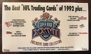 1992 The Best Nfl Trading Cards Of 1992 Sealed Wax Box Super Bowl Xxvii Set