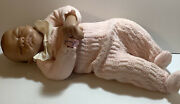 20and039and039 Realistic Lifelike Emily Baby Doll Girl Reborn Adg L.w. Pink Outfit Read