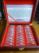 Olympic Games Rare 29 Slver- Plate Medals With High-grade Box Packaging