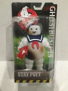 Ghostbusters Stay Puft Marshmallow Man Burned Posable Figure Mattel 6 Inch Gift