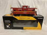 K-line By Lionel Lehigh Valley Smoking Extended Vision Caboose For Diesel Engine