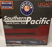 ✅lionel Legacy Southern Pacific Tank Train Car Set 6-29366 Sd40t-2 Diesel Engine