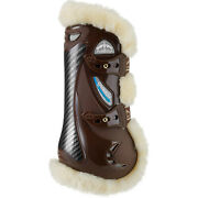Veredus Carbon Gel Vento Save The Sheep Front Horse Boot Tendon - Brown