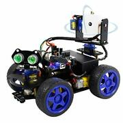 Uno R3 Diy Smart Robot Car Kit With Camera Stem Education With Tutorial Cd