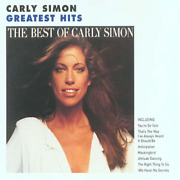 Carly Simon - Greatest Hits - The Best Of Carly Simon Cd 1991 11 Tracks
