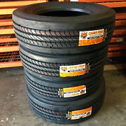 4 Tires Cosmo Ct588 Plus 265/70r19.5 Load H 16 Ply Steer Commercial