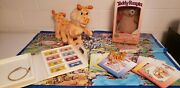 Original Teddy Ruxpin + Grubby. 8 Cassettes And Books Miniatures Posters Map1985