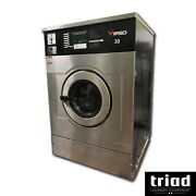 And03907 Ipso 30lb Coin Op Commercial Washer 1ph Unimac Dexter Speed Queen Laundromat