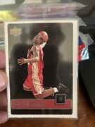 Rare Upper Deck Ud1 23 Lebron James Rc Rookie Card See Pictures