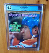 Sports Illustrated 1985 Gretzky Newsstand Fc Cgc 9.2 Nice High Grade Early Cover
