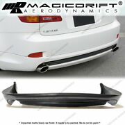 For 06-13 Lexus Is250 Is350 Ins Vip Style Rear Bumper Diffuser Lip Body Kit