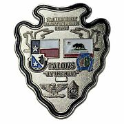 Challenge Coin 71st Expeditionary Military Intelligence Brigade Arrowhead Talons
