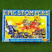 Epic 40k Stompers 6 Sprues And Bases Rare Oop Warhammer Ork Marines Dreadnoughts