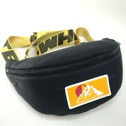 Unused Off-white Omna074f19f Virgil Abloh Waist Pouch Hip Bag Black/yellow