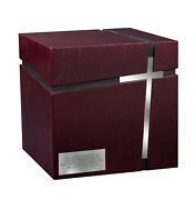 Modern Adult Cremation Urn For Ashes Funeral Urn Unique Memorial With Cross