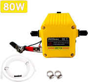 Oil Change Pump Extractor 12v 80w Marine Oil Change Pump Yellow New