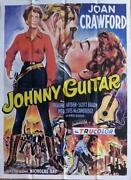 Johnny Guitar - Joan Crawford / Western - Reissue Large French Movie Poster
