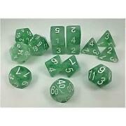 Set Of 15 Dice Polyhedral Dryad's Grove