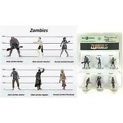Characters Of Adventure Zombies Set A