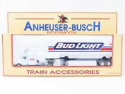 O Scale K-line Anheuser-busch Bud Light Intermodal Tractor And Trailer