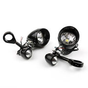39mm Fork Clamp Led Spot Fog Driving Lights Turn Signal For Touring Chopper T1a3