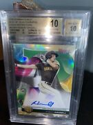 2020 Robert Hassell Bowmanand039s Best Of Auto /99 Green Refractor Bgs 10/10 Pristine