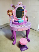 Disney's Sofia The First Royal Talking Vanity - Tested And Working Local Pickup