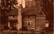Vtg 1910s Clubhouse Emory And Henry College Emory Virginia Va Postcard
