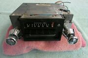 1960and039s-70and039s Ford Aeronutronic Am / 8 Track Tape Car Radio / Stereo D6ef-19a242