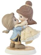 Disney Precious Moments Belle And Adam Your Love Lifts Me Higher Nib Figurine