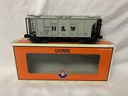 ✅lionel Norfolk Western Ps-2 Covered Hopper Car 6-17040 O Scale Train Freight