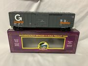 ✅mth Premier Guilford 50' Box Car 20-93272 O Scale Freight Ps-1 Maine Central
