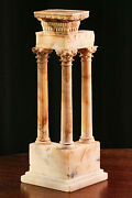 Stately Marble Model Neoclassical Architecture Rome Antique Grand Tour