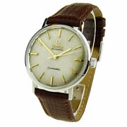 Omega Seamaster Stainless Steel Automatic Wristwatch Dating Circa 1961