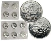 Pamp Suisse Round Christopher Columbus 1492 - 1992 10 Rounds