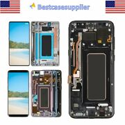 Oem Lcd Display Touch Screen Digitizer Frame For Samsung S10 S10+ S9+ S9 S8 S8+