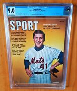 Sports Illustrated Seaver 1970 Fc Newsstand Cgc 9.0 None Higher Pop 1