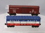 Lionel Vintage O Freight Cars 6464-50, 6464-275 [2]