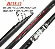 Fishing Rod Portable Carbon Anti Collision Telescopic Spinning Travel Float Pole