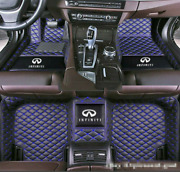 Fit Infiniti Custom Luxurious Front And Rear Waterproof Coupe Auto Car Floor Mats