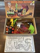 Vintage 1970andrsquos-80andrsquos Woolworthandrsquos Silver Star Express Battery Power Flip Train Set