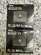 Asus Usb-bt400 Usb Adapter W/bluetooth Dongle Receiver, Laptop And Pc Support, 10