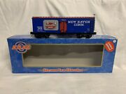 ✅atlas O 3-rail New Haven Hummel Brothers 36' Wood Side Reefer Car O Scale