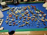 Huge Lot Of Plastic Animals Farm Zoo Wild Pets You Name It It Is Here