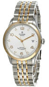 New Tudor 1926 36mm Auto Ss Silver Diamond Dial Womenand039s Watch M91451-0002