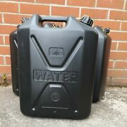 New British Army Nato Water Carrier 20 Ltr Plastic Jerry Can Canister Container