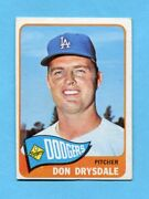 1965 Topps 260 Don Drysdale Los Angeles Dodgers Baseball Card Ex