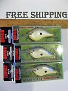 Rapala Dt 06and039s--lot Of 3 Disco Shad Colored-fishing Lures-dt06 Dt-6 Crankbaits