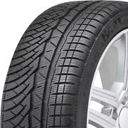 4 New Michelin Pilot Alpin Pa4 235/40r19 92v N0 Studless Snow Winter Tires