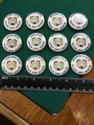 Vintage Twelve Different States Needs Nixon And Agnew Political Pinback Buttons